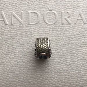 Flamingo and Palm Tree Pandora Charm